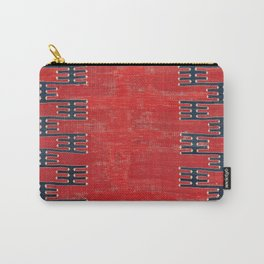 Yüncü Balikesir Northwest Anatolian Kilim Print Carry-All Pouch