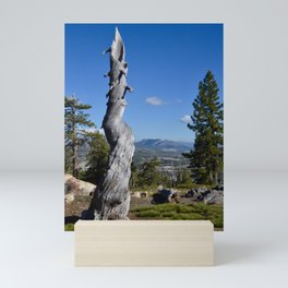 alpine memory Mini Art Print