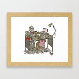 Overloaded Framed Art Print