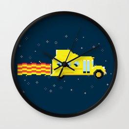 Magic Pixel Bus Wall Clock