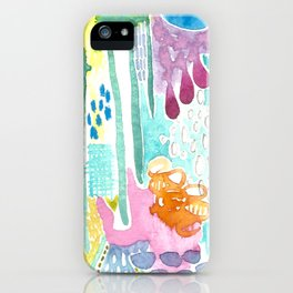 dreamscape song.  iPhone Case