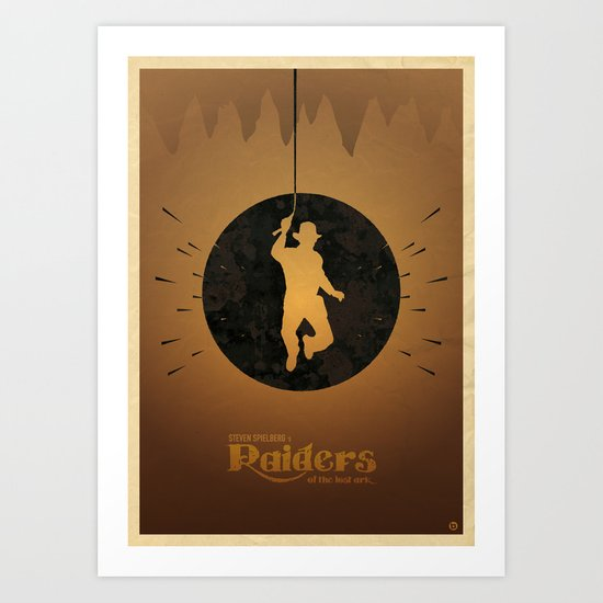 Steven Spielberg's RAIDERS OF THE LOST ARK Art Print