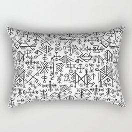 Viking Pattern | Warrior Valknut Norse Mythology Rectangular Pillow