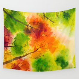 Autumn scenery #13 Wall Tapestry