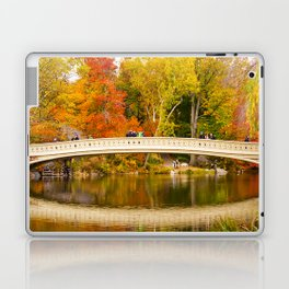 Bow Bridge at Central Park Laptop & iPad Skin