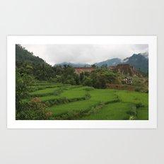 Tropic Nepali Paradise Art Print