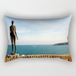 Picasso Museum Statue - Antibes Rectangular Pillow