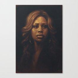 Laverne Cox Canvas Print