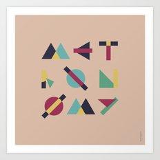Metronomy Art Print