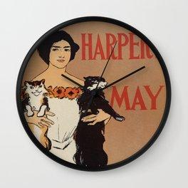 Harper's May 1898 Wall Clock