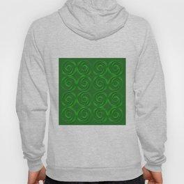 Abstract circles green illustration. Hoody