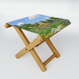 Summer Garden Deluxe Folding Stool