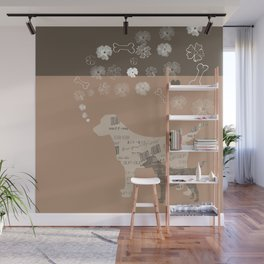 labrador Wall Mural