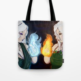 Queen Mab and Queen Titania Tote Bag