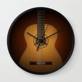 Classic Guitar Wall Clock