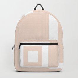 Minimal Geometric #white #squares #home #decor #art #style #cool #pattern #society6 #buyart Backpack