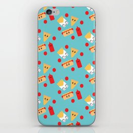 Fun Kawaii Food iPhone Skin