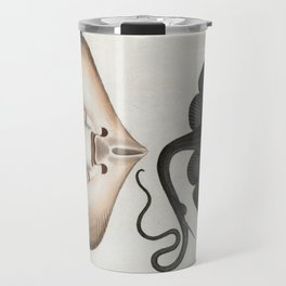 Vintage Stingray Illustration (1785) Travel Mug