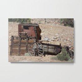 The Old Mine Metal Print