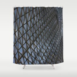 Sky Drainer. Fashion textures Shower Curtain