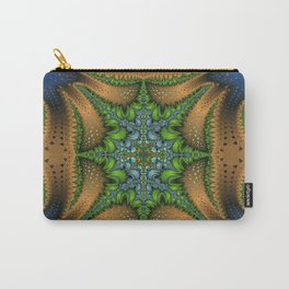 Fractal Ellipse Carry-All Pouch