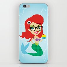 Hipster Ariel iPhone & iPod Skin