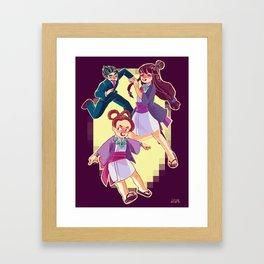 ace attorney Framed Art Print
