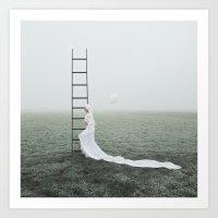 let it go Art Prints featuring Let go by Jovana Rikalo
