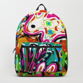 Rabbit and House Backpack
