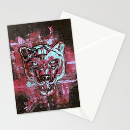 Panther Style. Stationery Cards
