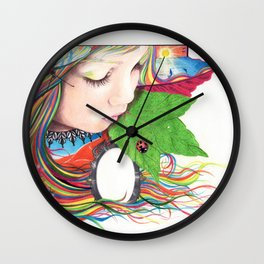 If Mother Earth Was a Child... Wall Clock