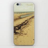 calcifer iPhone & iPod Skins featuring Sandbar by Calcifer