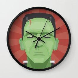 Frankenposter Wall Clock