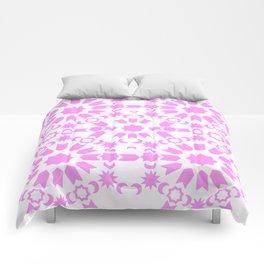 Pink Arabesque Comforters