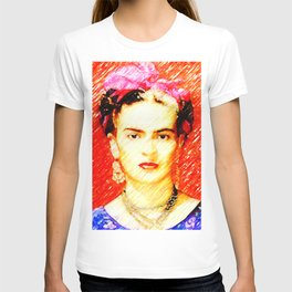Looking for Frida Kahlo... T-shirt