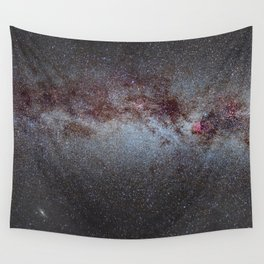 North America Nebula: the Milky way, from Cygnus to Perseus and Andromeda galaxy. Wall Tapestry