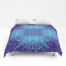 Blue Resonance Comforters