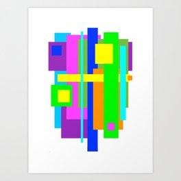 Color Cadence Art Print