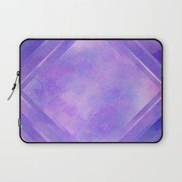Mosaic Tile // Violet Watercolour Laptop Sleeve