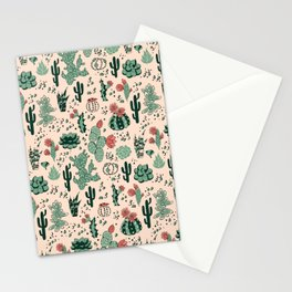 Succulent Desert Stationery Cards
