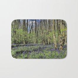 Everdon Stubbs Wood Bluebells Bath Mat