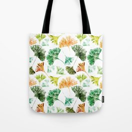 Gingko Leaves Tote Bag