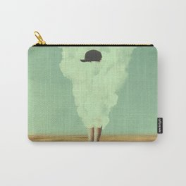 Magritte's Bowler Hat Carry-All Pouch
