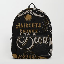 Gentlemen's Barber Shop LA Backpack