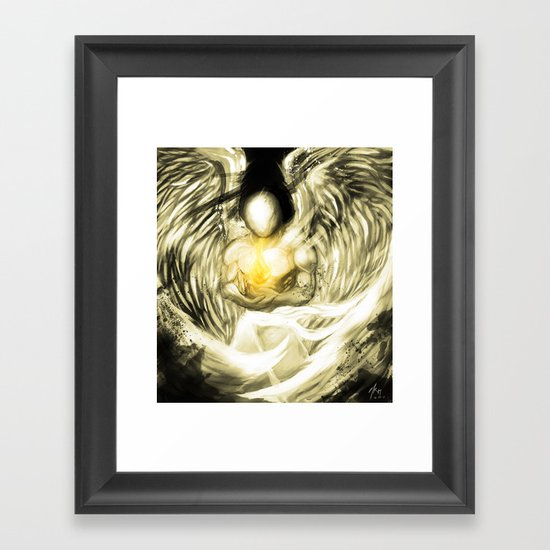 This Little Light of Mine V.2 Framed Art Print