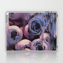 Floral Glitches Laptop & iPad Skin