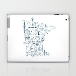 Minnesota Up North Collage Laptop & iPad Skin