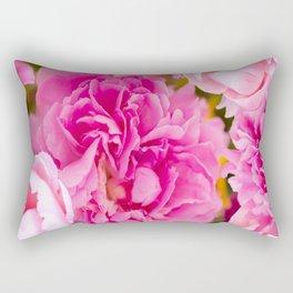 Large Pink Peony Flowers #decor #society6 #buyart Rectangular Pillow