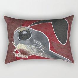 Beatrice the Quail Rectangular Pillow