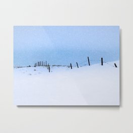 Across the Miles Metal Print